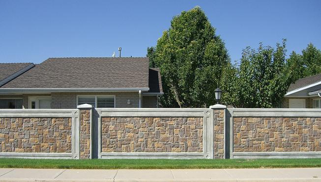 Precast Fencing Architectual Wall Panels by StructureCast: StoneTree ...